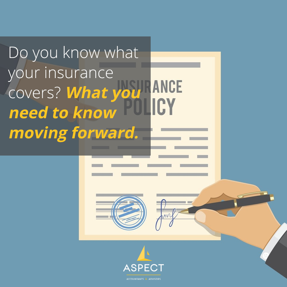 Do you know about your insurance coverage ? | Aspect Accountants Perth